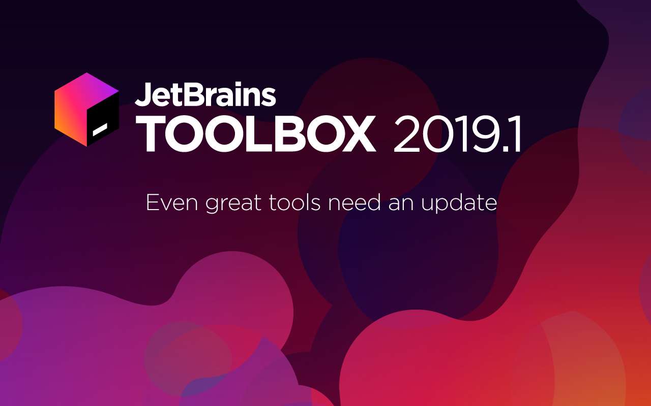 JetBrains Toolbox 2019.1