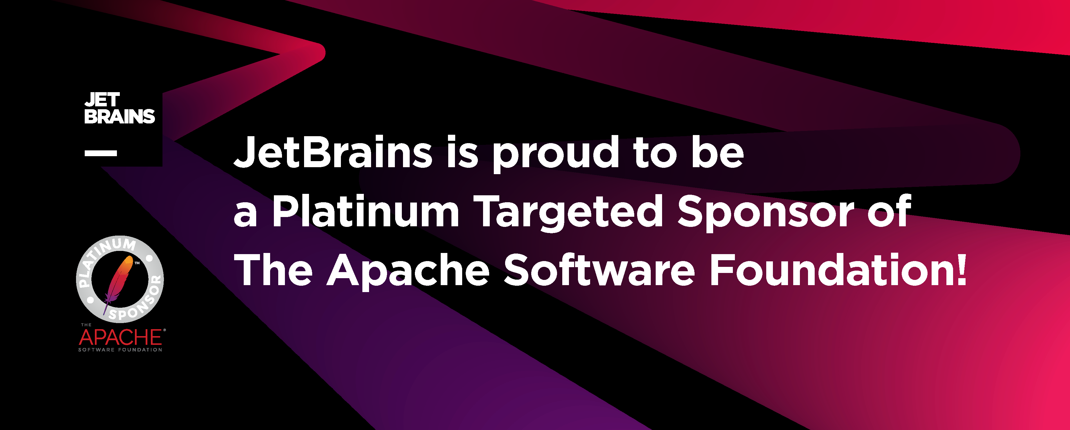 JetBrains Supports The Apache Software Foundation