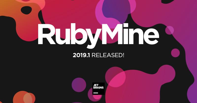 RubyMine 2019.1