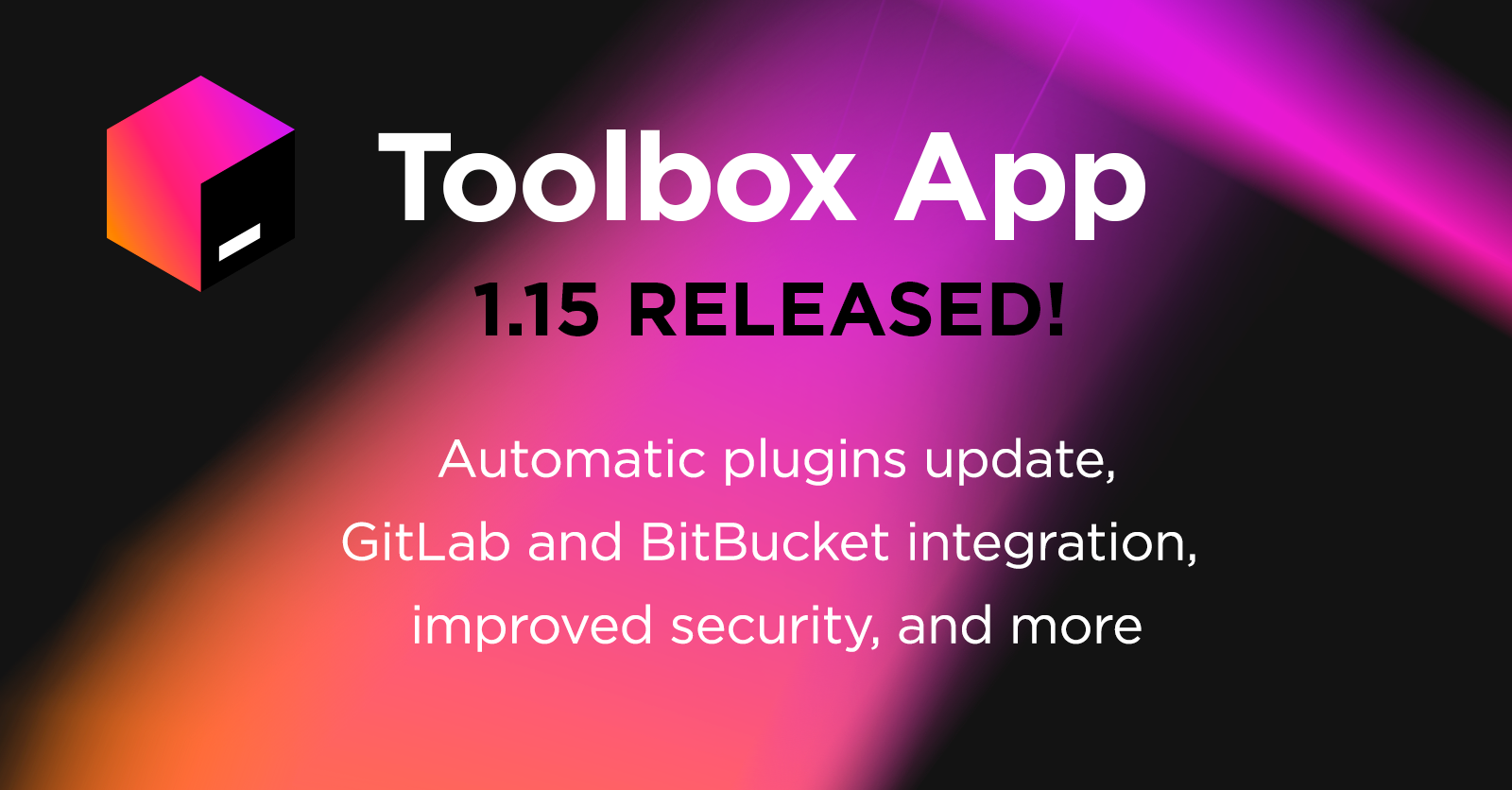 Toolbox App 1.15 is released