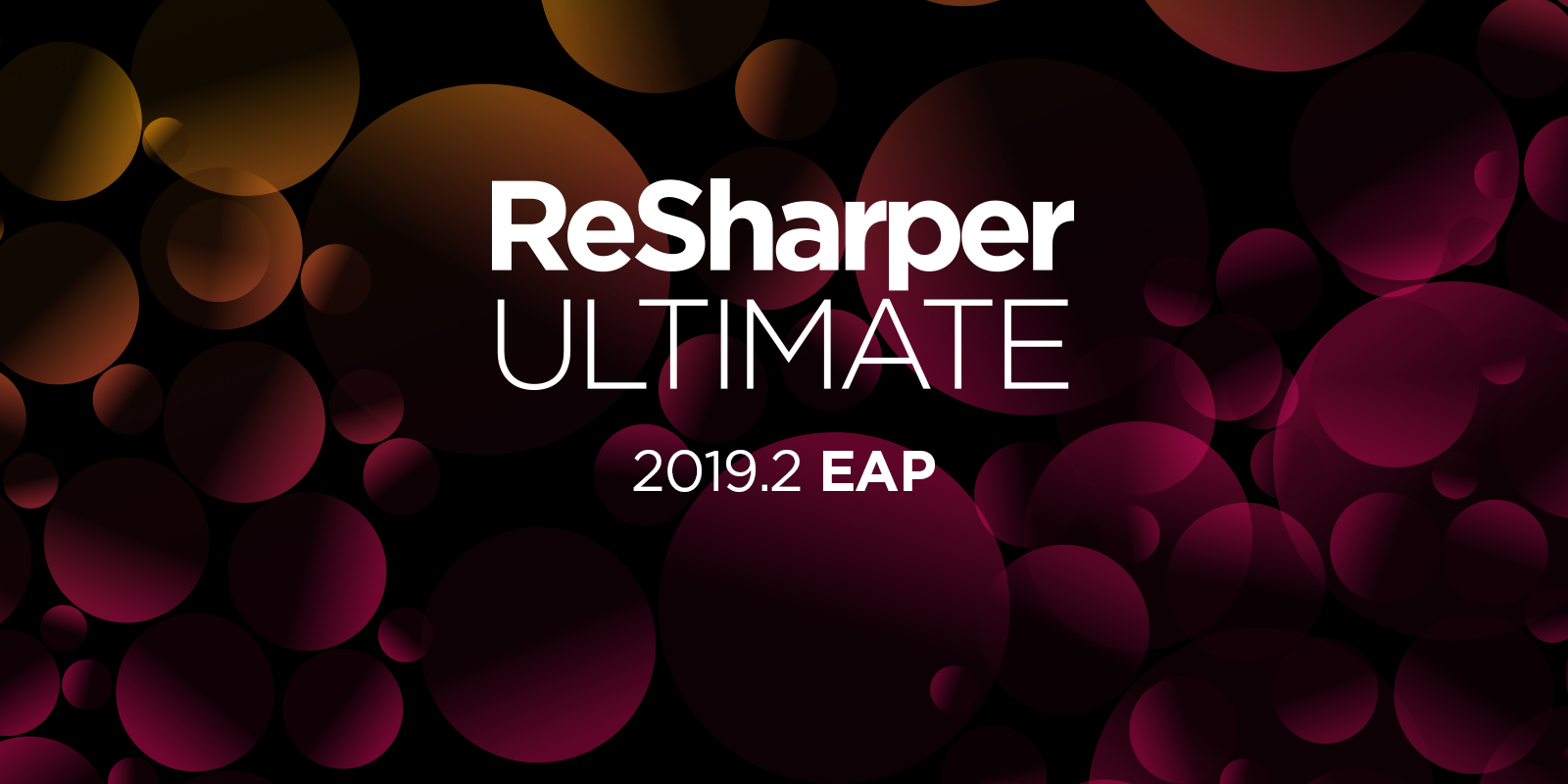 ReSharper Ultimate 2019.2 EAP