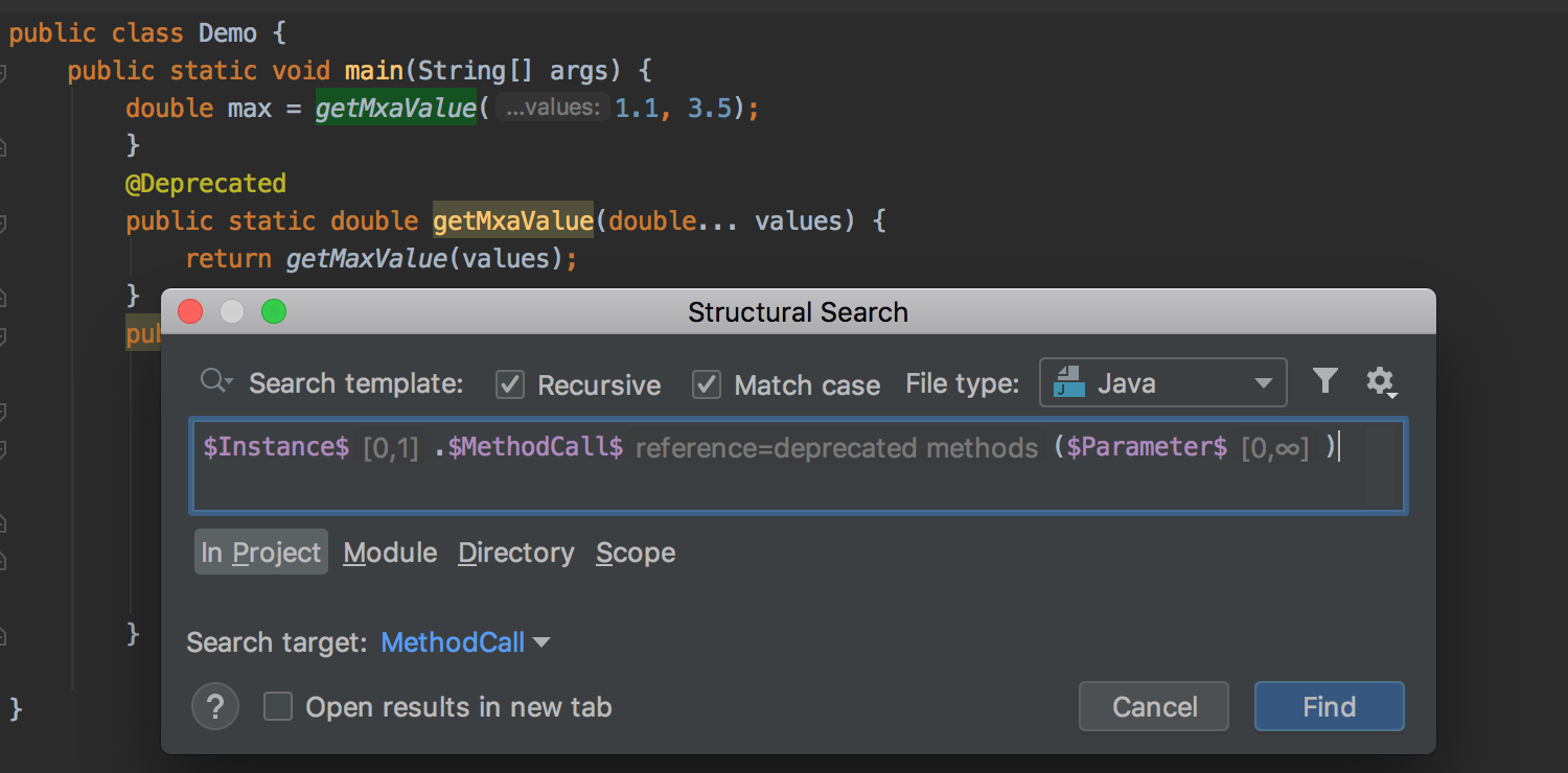 StructuralSearch