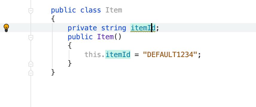 Fix variable names