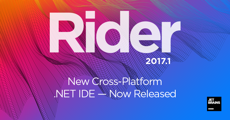 Rider 2017.1 release banner image