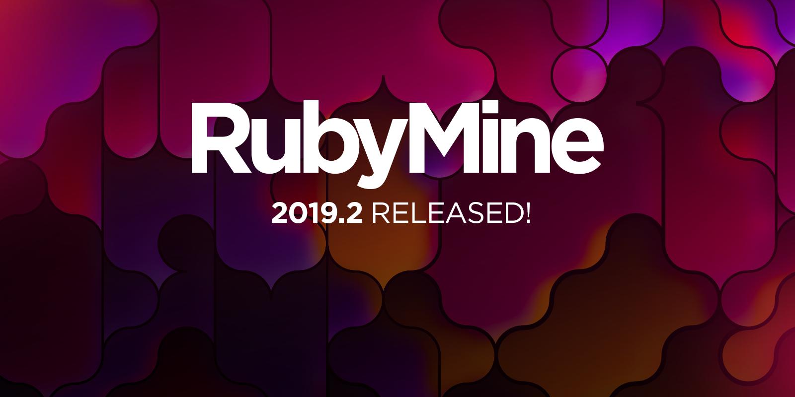 RubyMine 2019.2