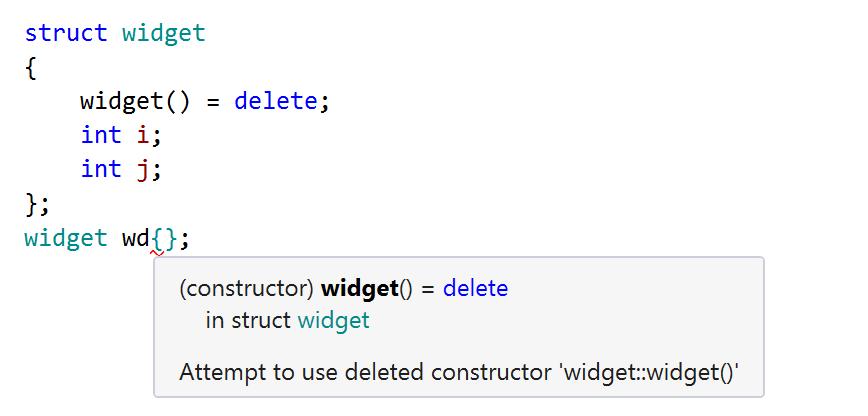 Aggregate initialization