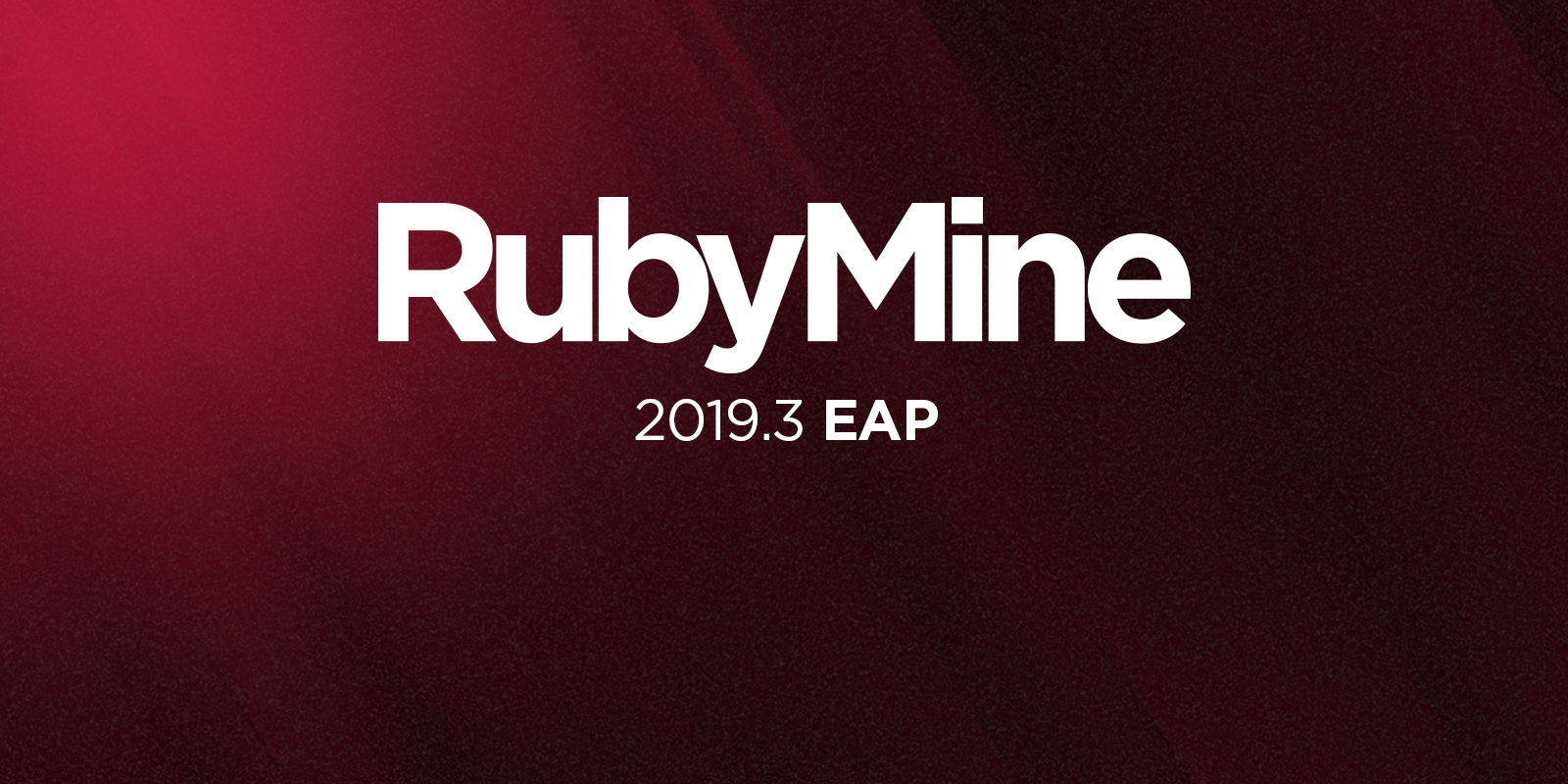 RubyMine 2019.3 EAP