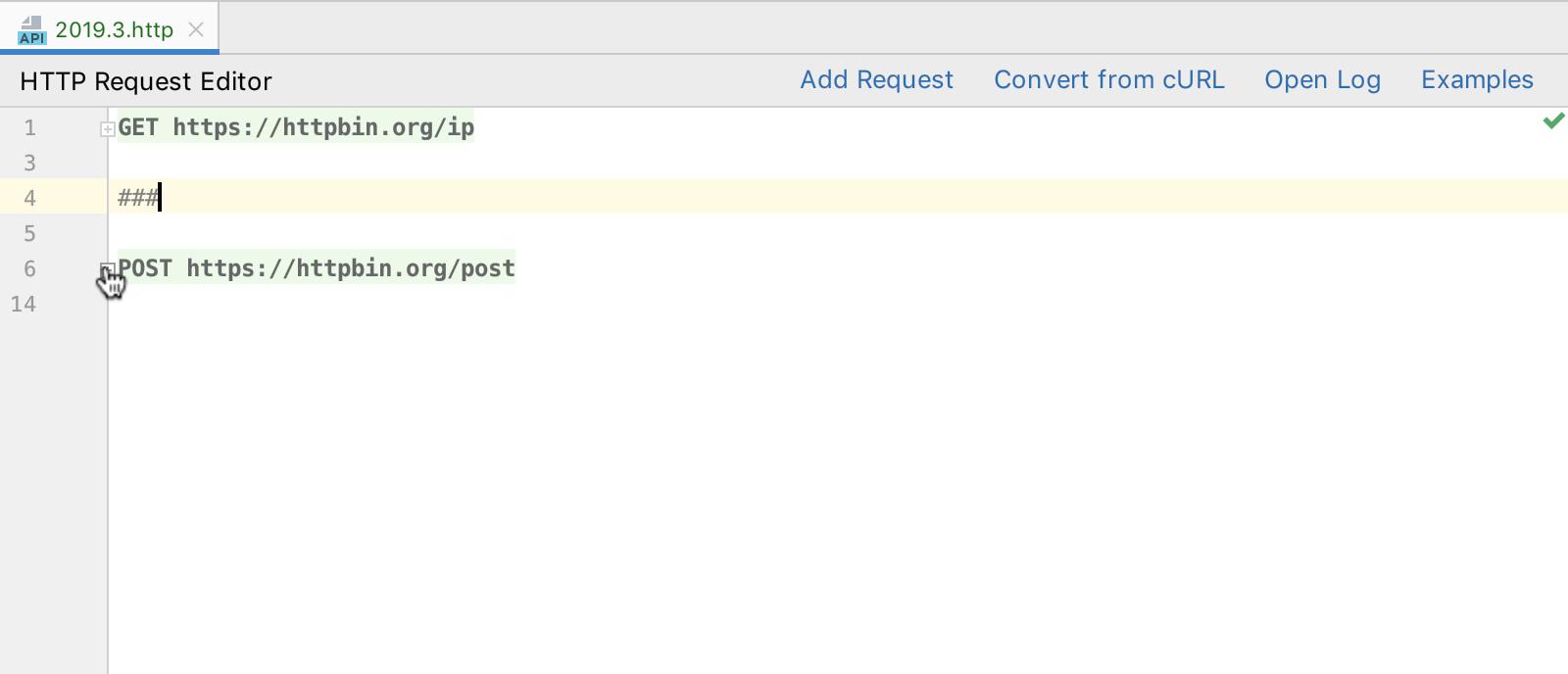 http-client-folding