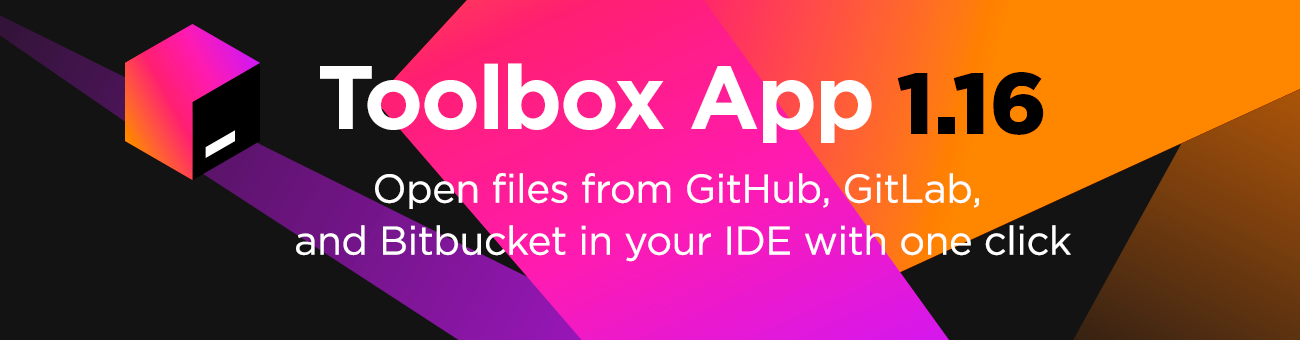 Open GitHub, GutLab, Bitbucket files in your JetBrains IDEs