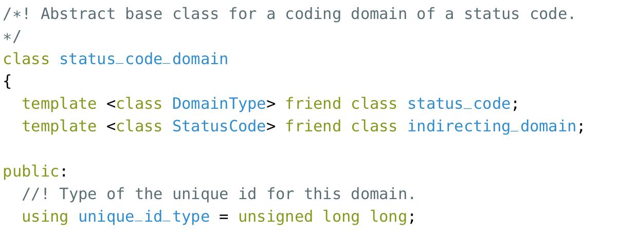 Status code