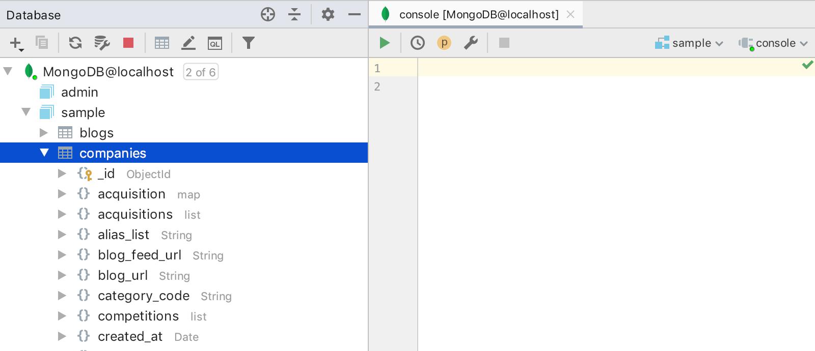 mongodb-collections