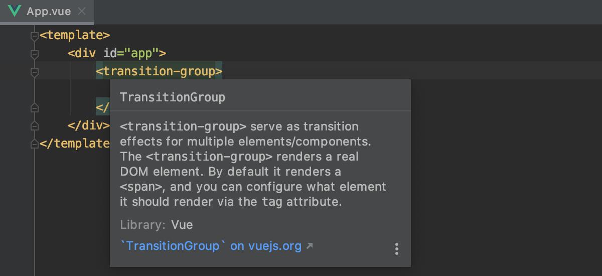 documentation-for-the-vue-framework