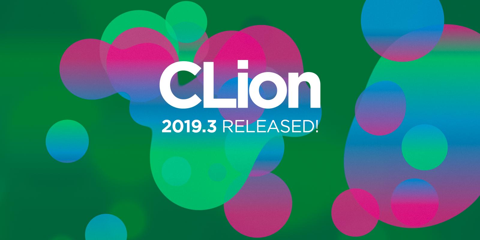 CLion 2019.3 릴리스
