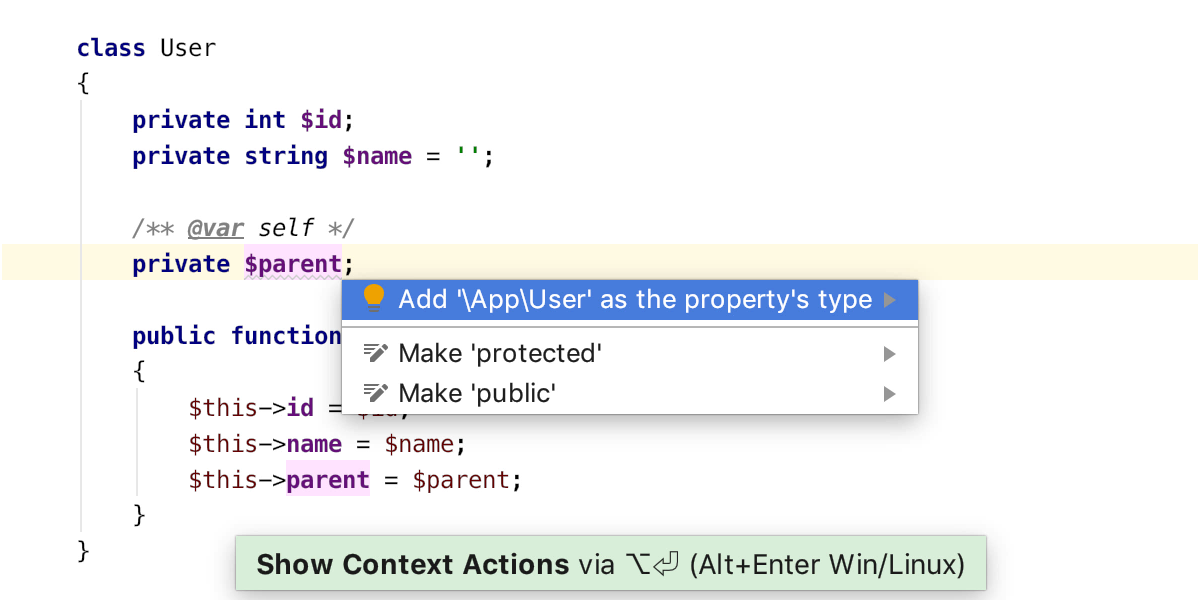 php74_typed_properties_quickfix