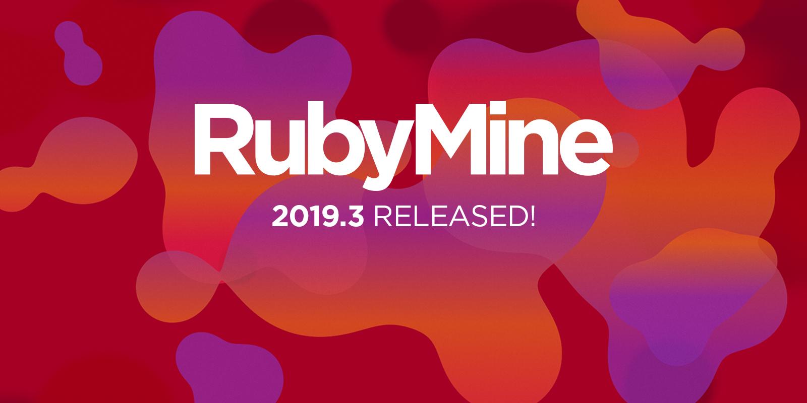 RubyMine 2019.3