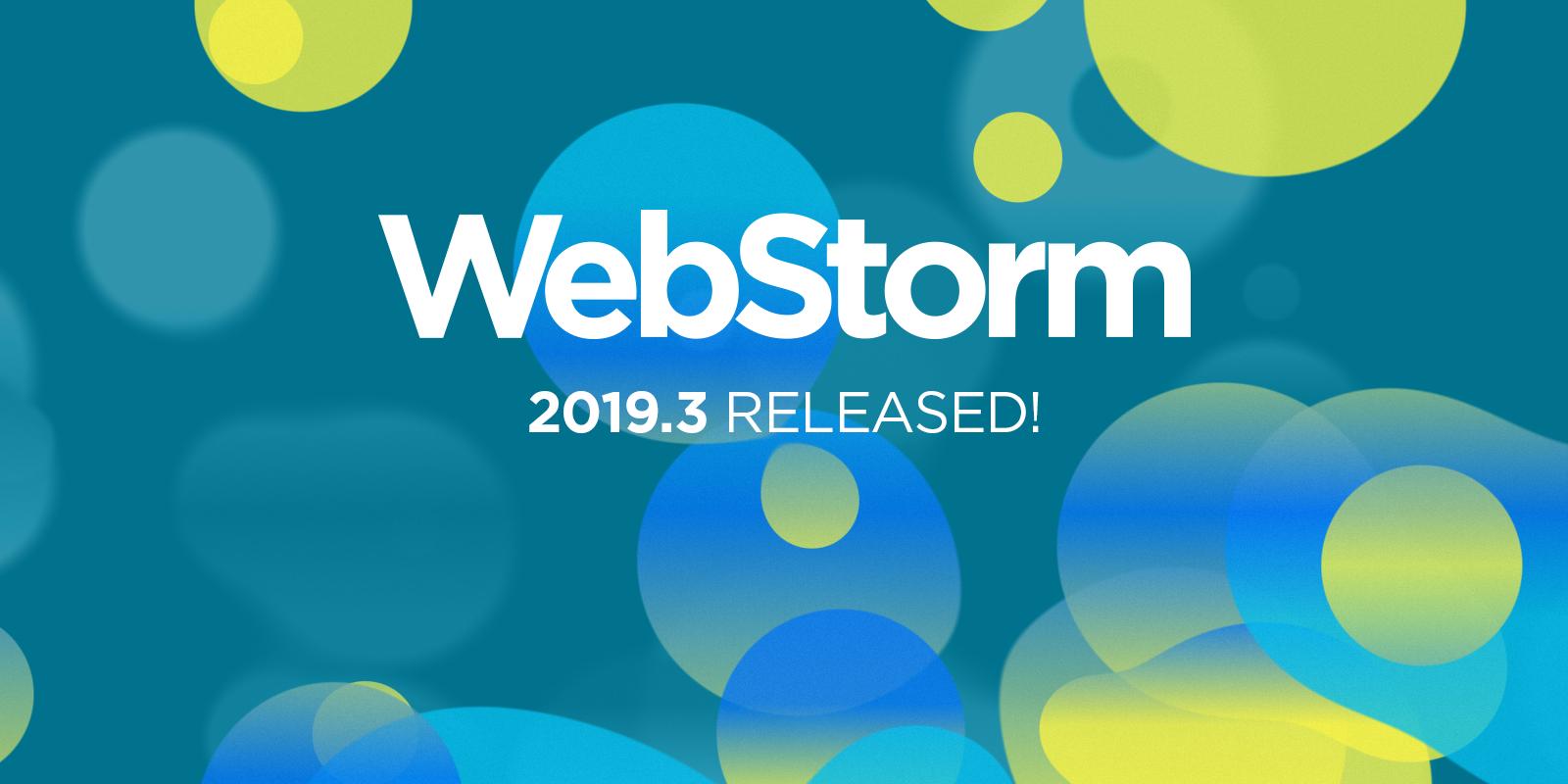 webStorm-2019-3-released