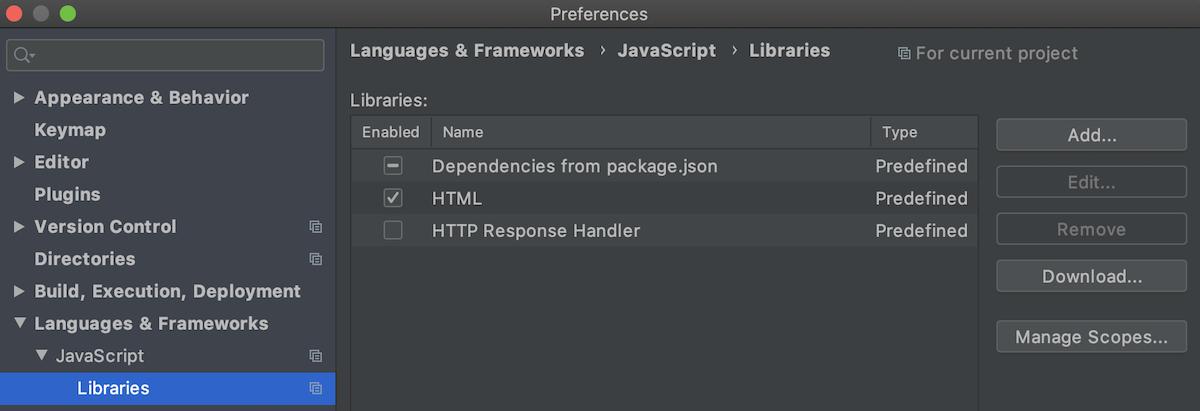 yarn-dependencies-as-library