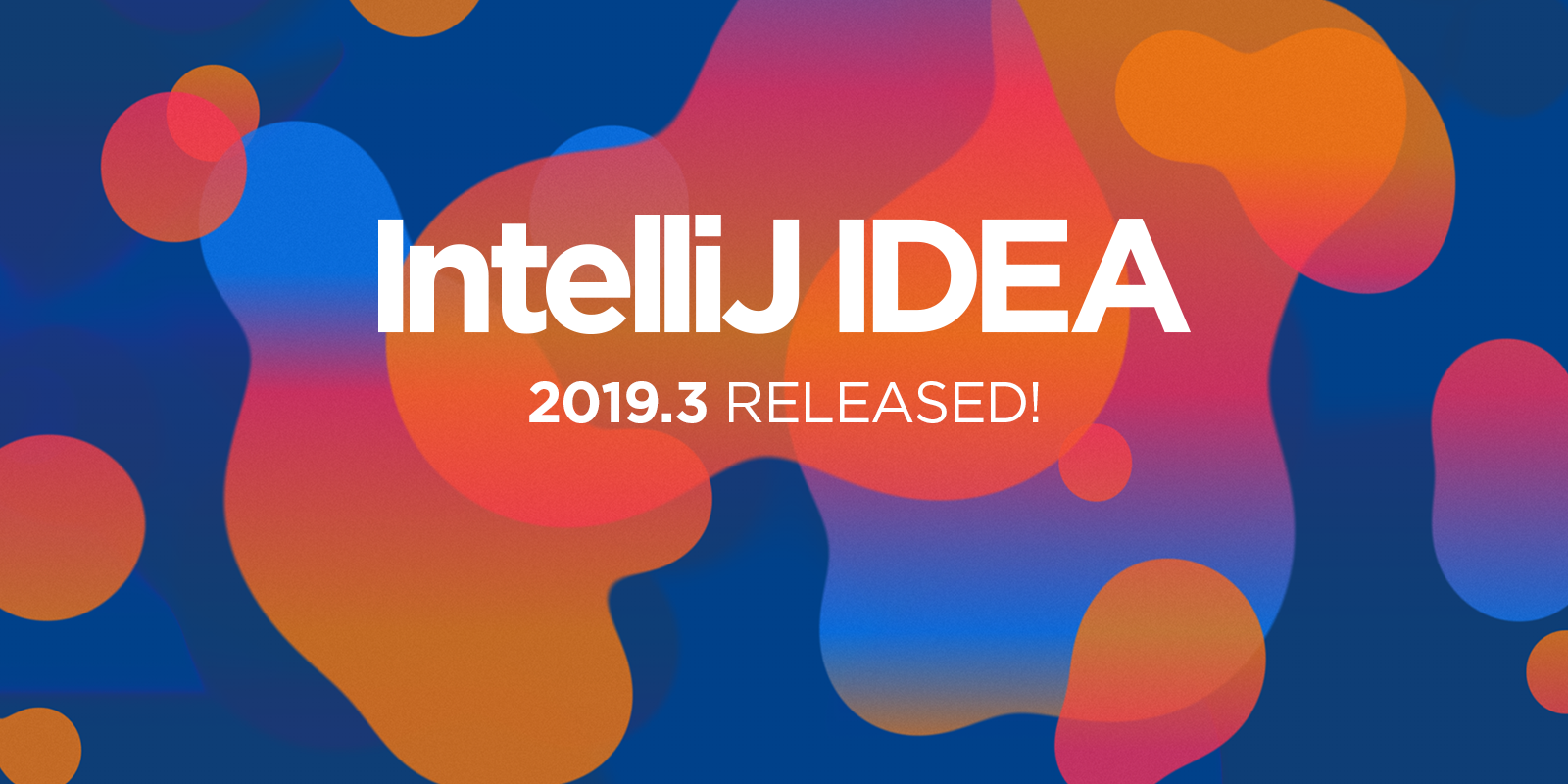 IntelliJ IDEA 2019.3 release