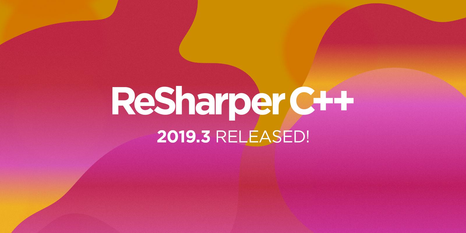 ReSharper C++ 2019.3