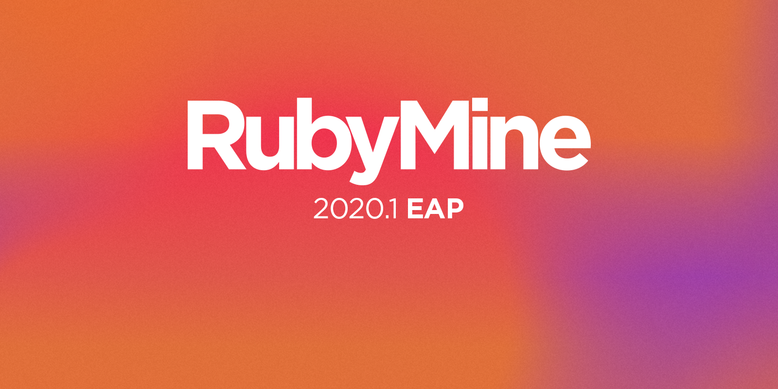 RubyMine 2020.1 EAP