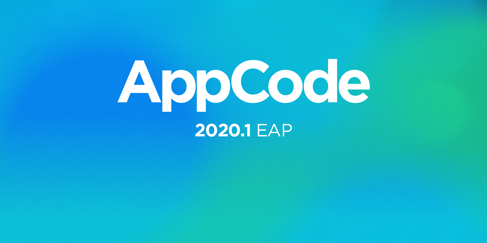 AppCode 2020.1 EAP splash