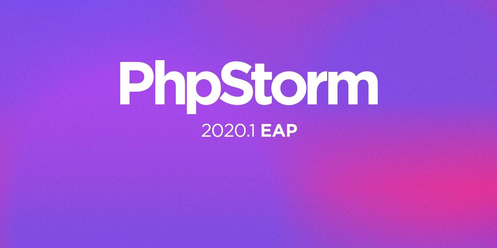 PhpStorm 2020.1 EAP