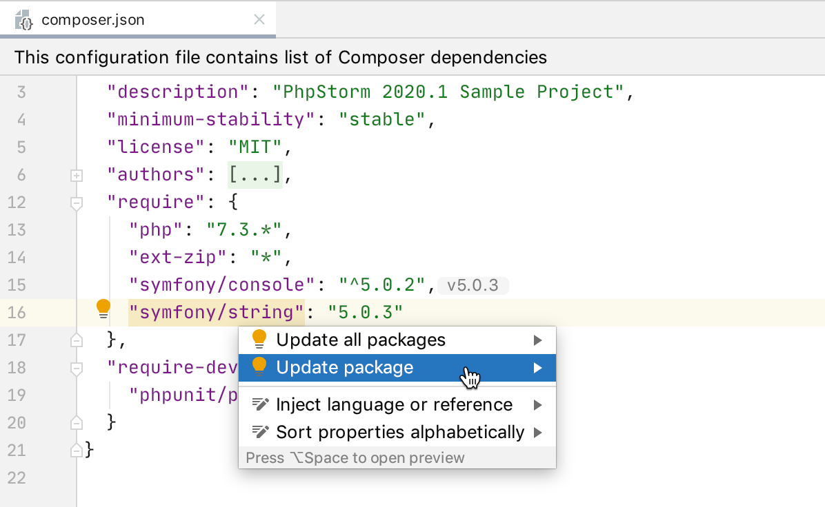 composer-json_update dependecy_quick-fix