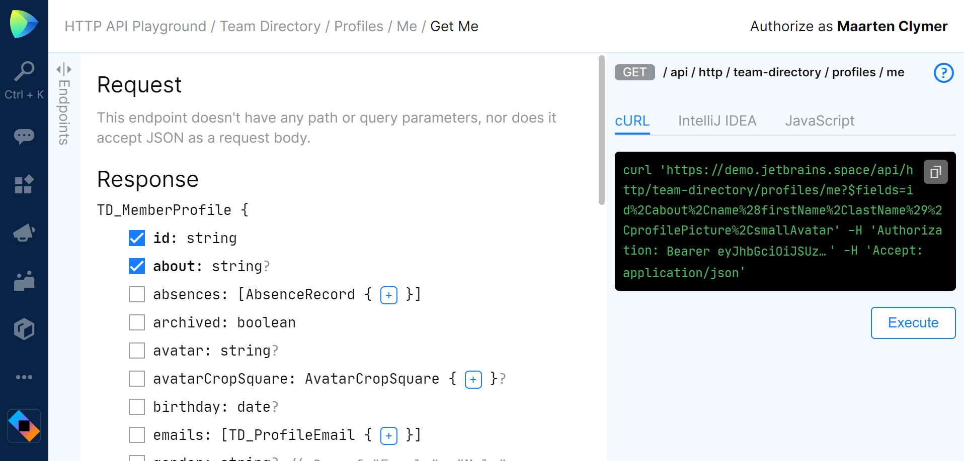 Shaping API responses based on the data required