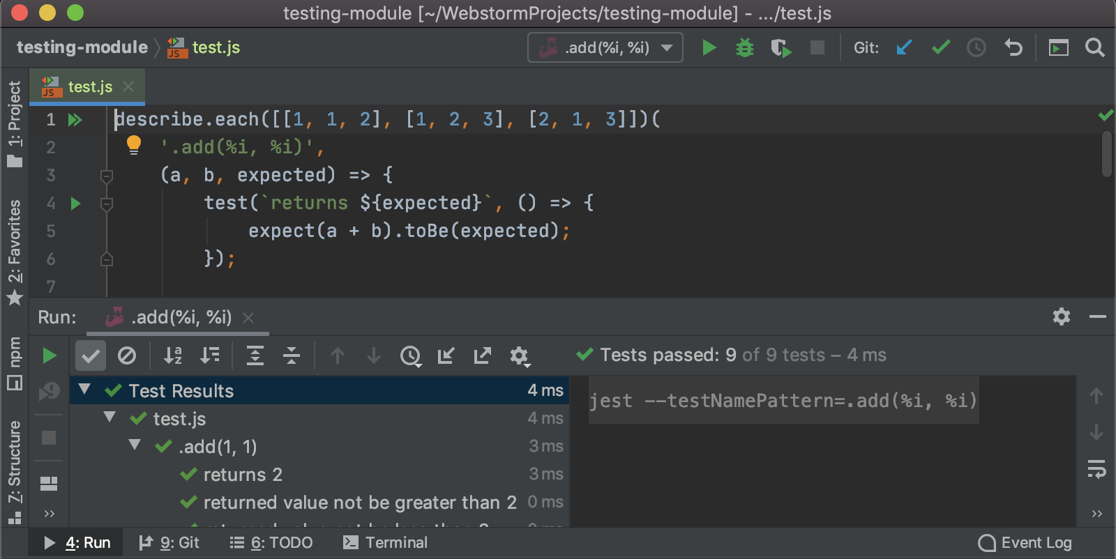 tests-with-each-jest