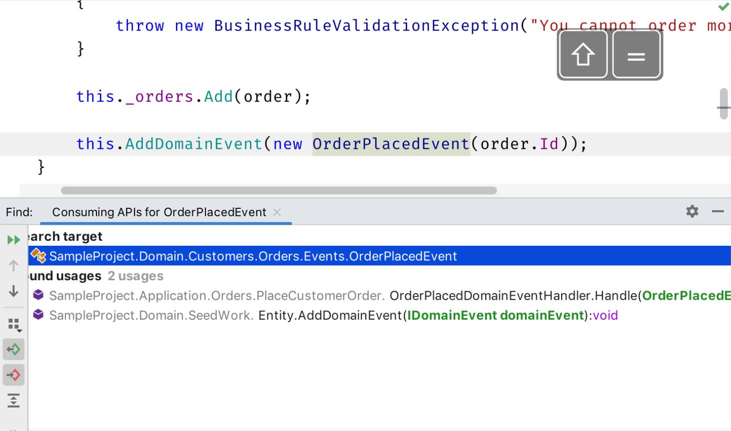Find consuming APIs