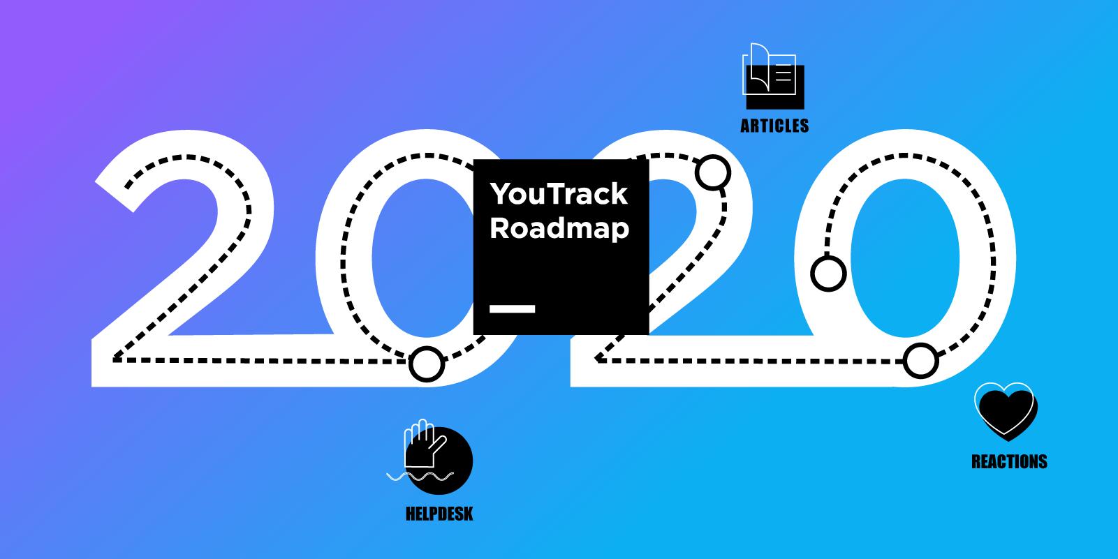 La feuille de route de YouTrack pour 2020