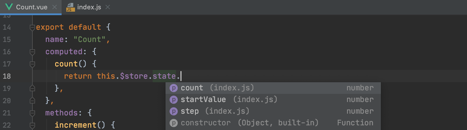 values-from-vuex-state-object