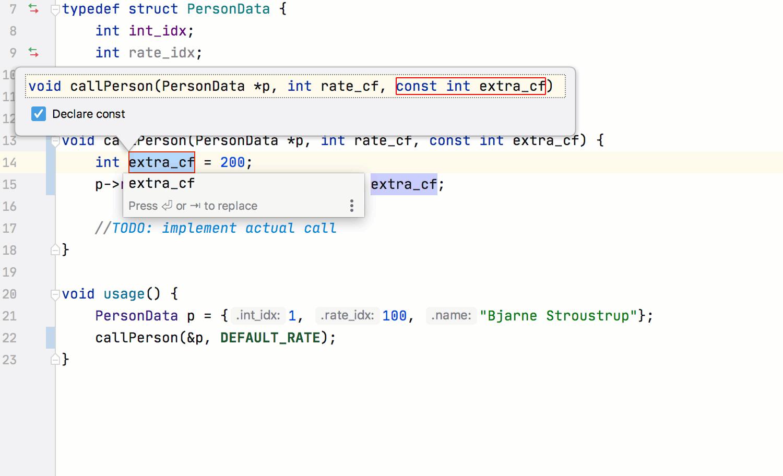Extract Parameter update