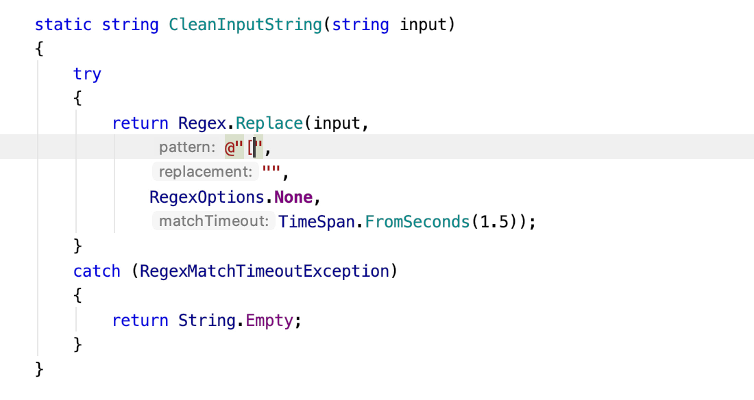Intellisense for regular expressions