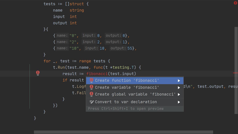 GoLand에서의 TDD - 06 - 실패하는 코드 추가하기