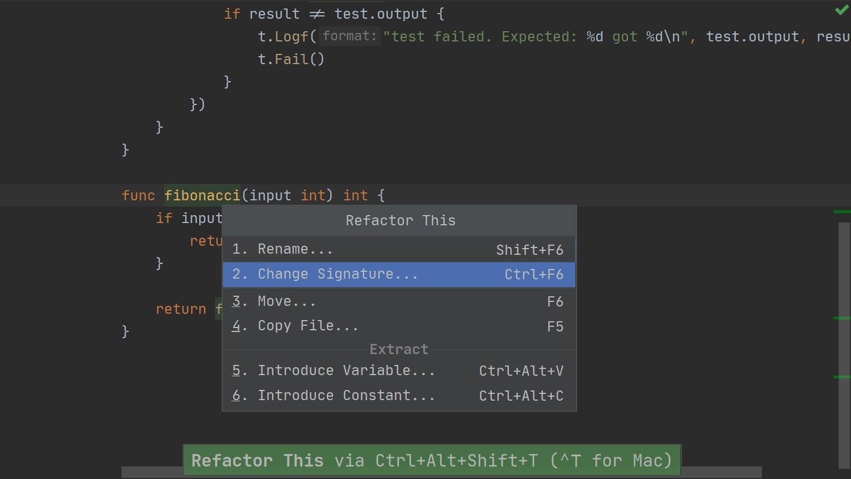 GoLand에서의 TDD - 09 - 테스트하지 않는 파일로 코드 이동하기