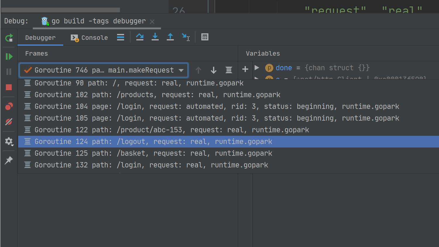 debugging http middleware with labels