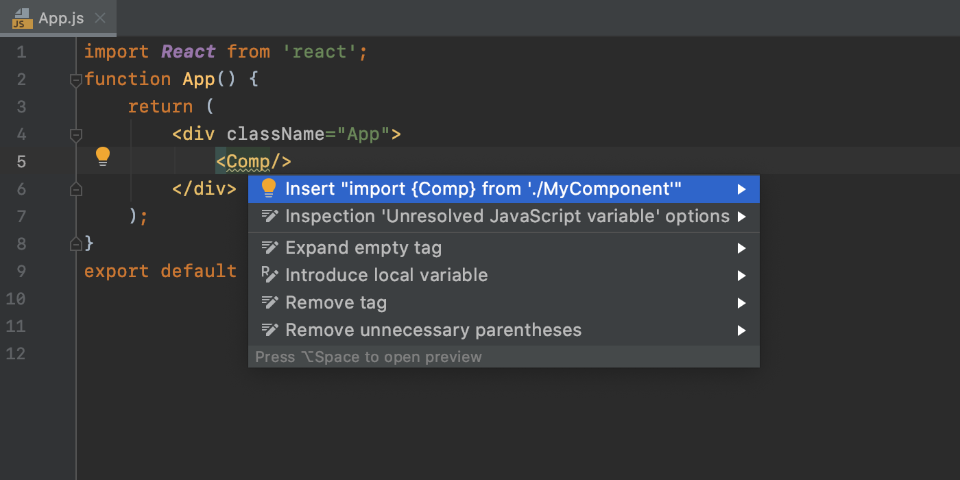 insert-import-for-react-memo-components