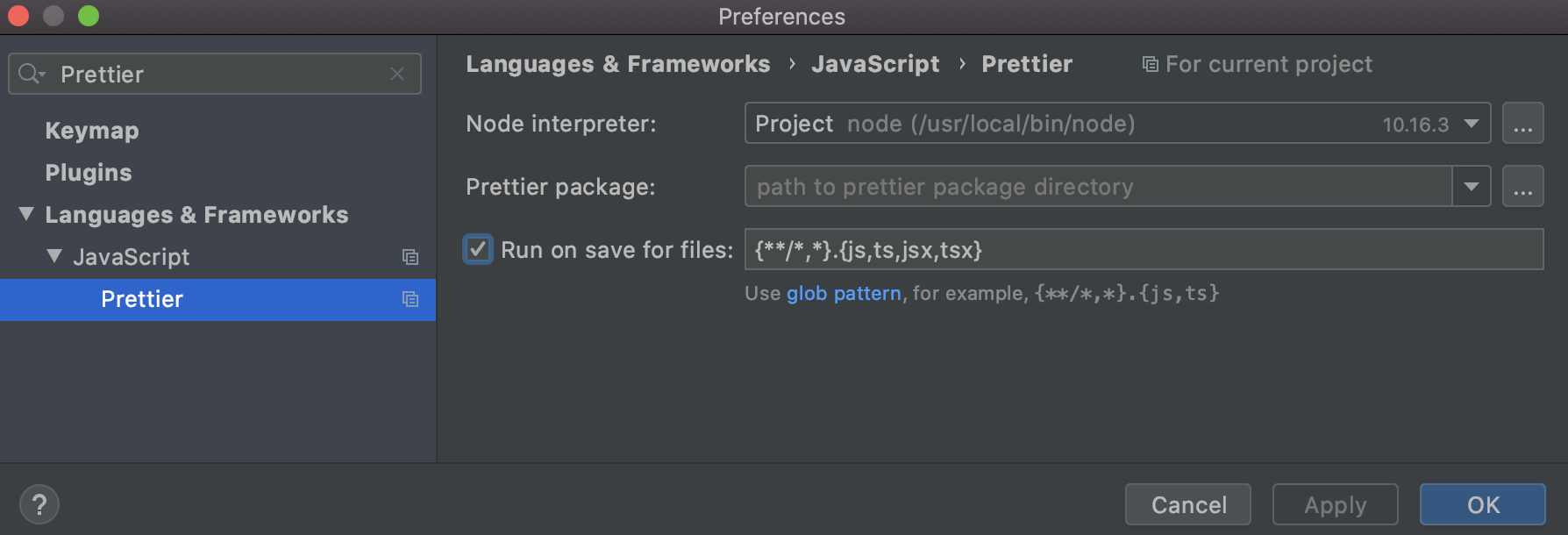 run-on-save-for-files-prettier