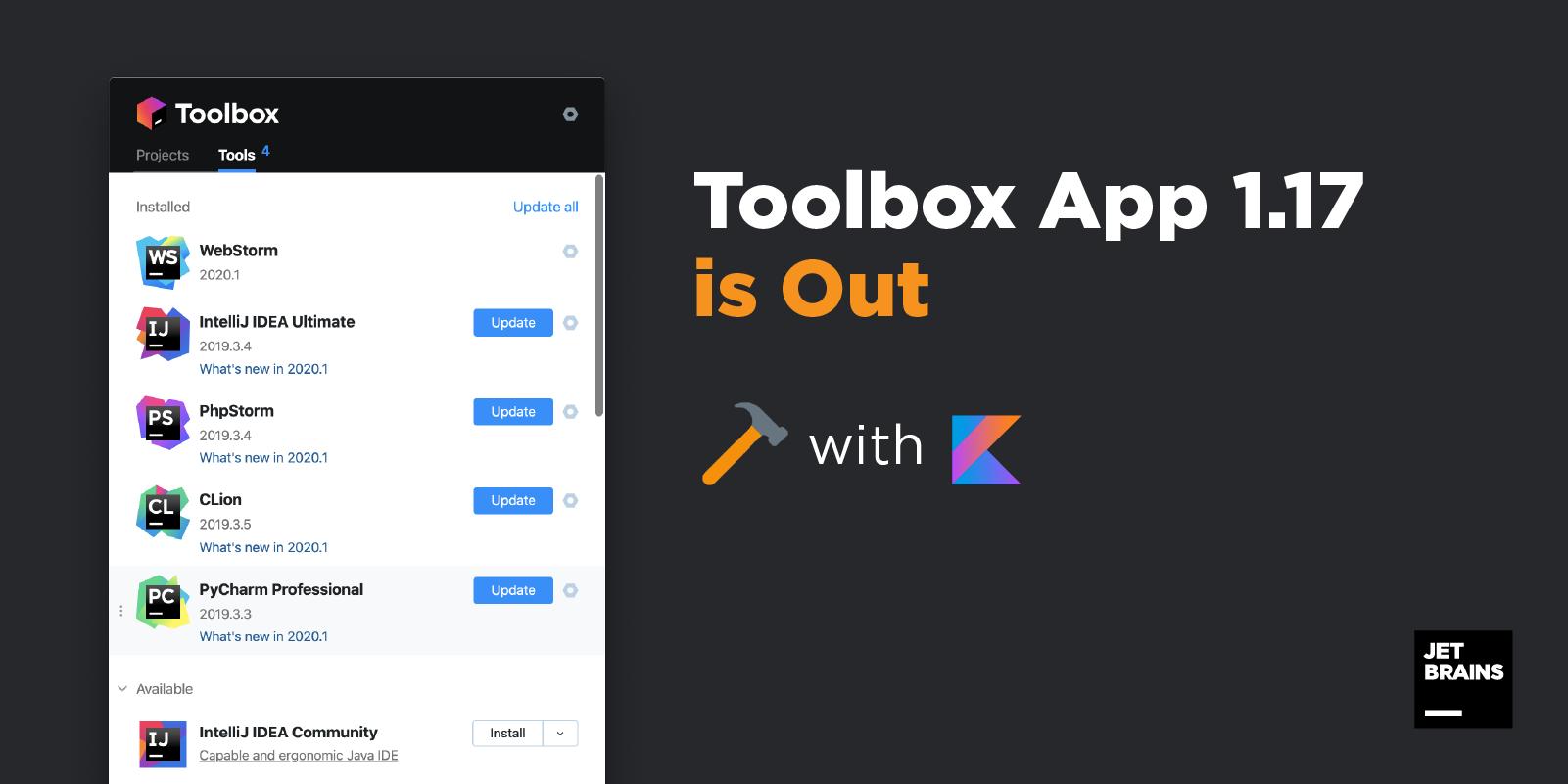 Toolbox App 1.17 Released