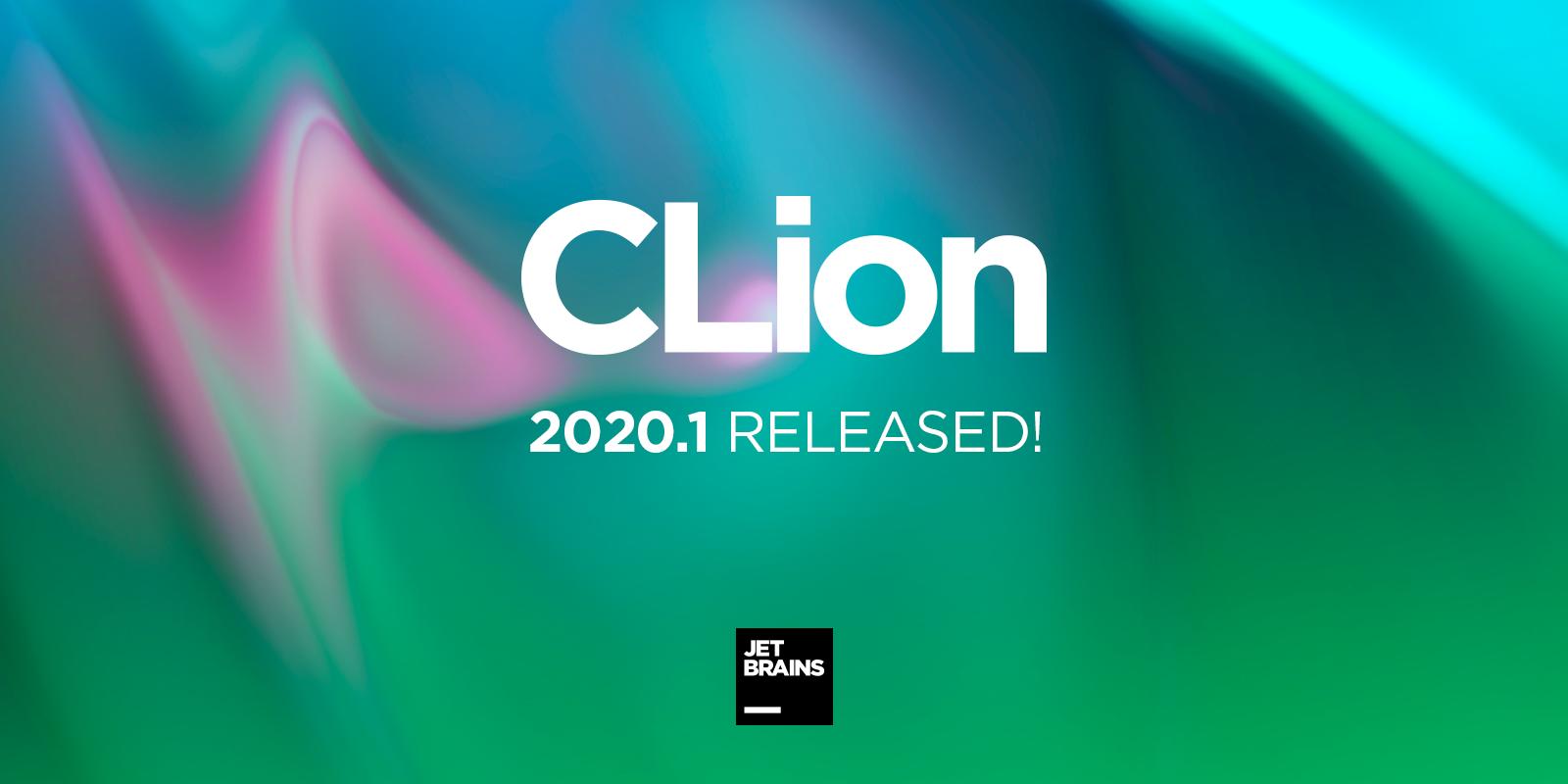 CLion 2020.1 릴리스