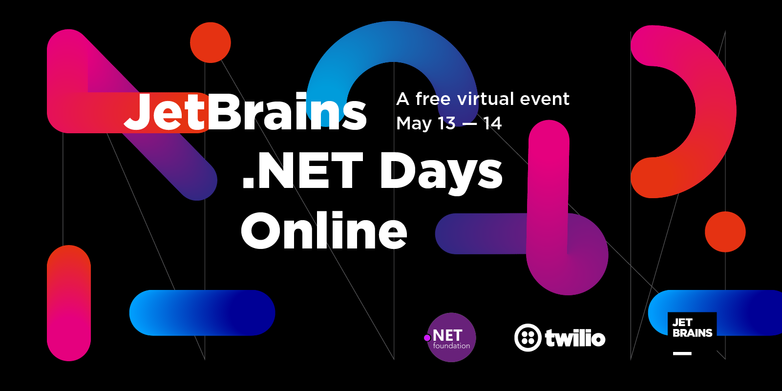 JetBrains .NET Days Online, 13-14 May, 2020