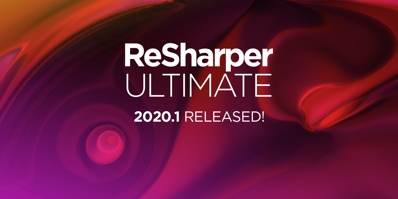 ReSharper Ultimate 2020.1 is released