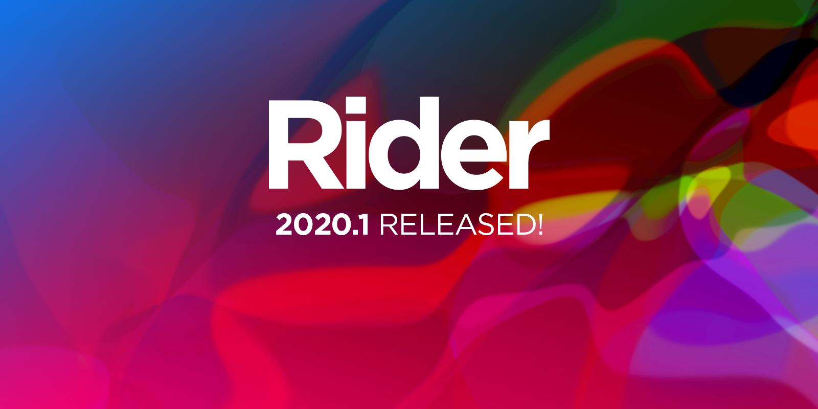 Rider 2020.1 est disponible
