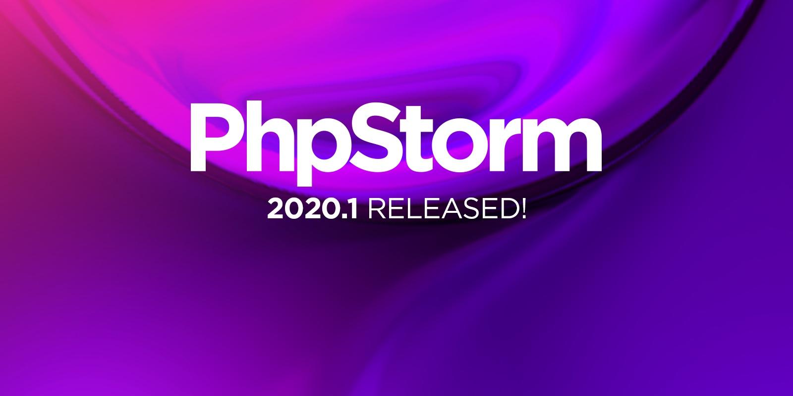 PhpStorm 2020.1