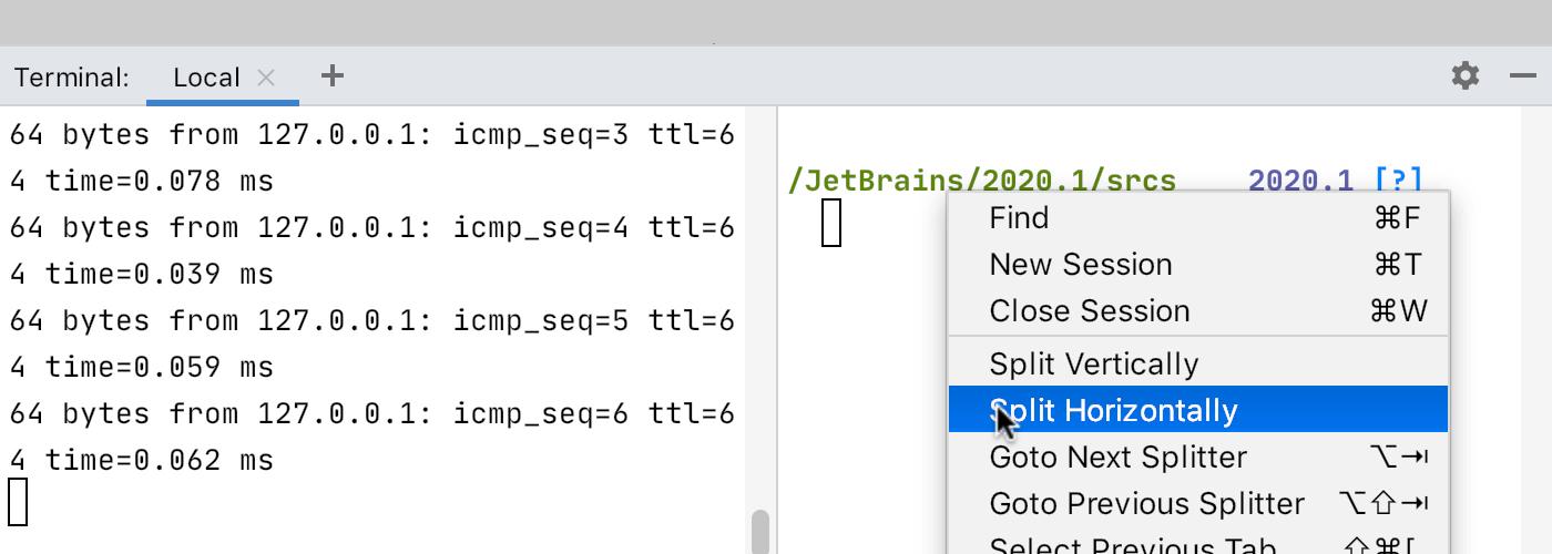 split_terminal