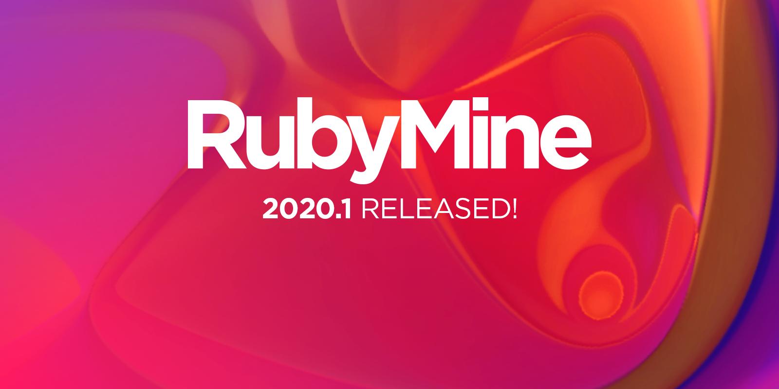 RubyMine 2020.1 est disponible