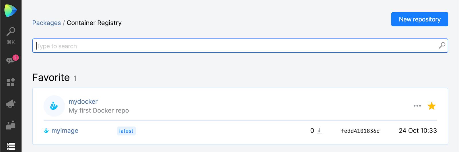Space Packages. Explore Docker registry