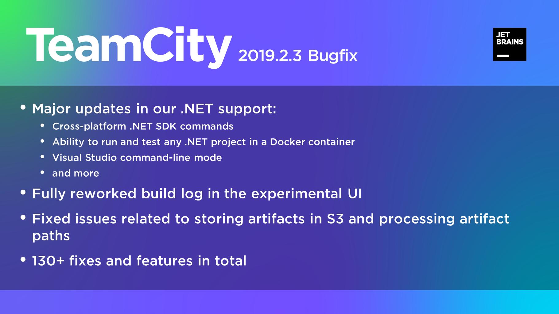 TeamCity 2019.2.3
