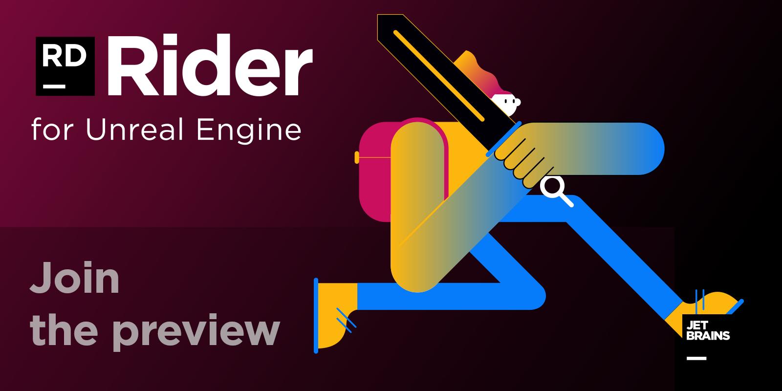 Public Preview de Rider for Unreal Engine